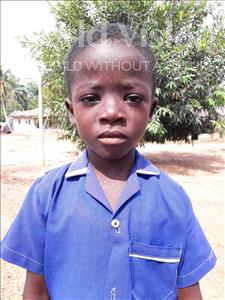 Choose a child to sponsor, like this little boy from Jaiama Bongor, Lahai age 8
