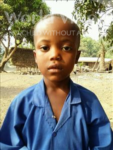 Choose a child to sponsor, like this little boy from Jaiama Bongor, Hassan age 6