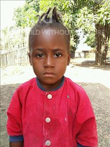 Choose a child to sponsor, like this little girl from Jaiama Bongor, Hawa age 5