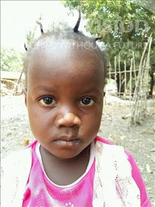 Choose a child to sponsor, like this little girl from Jaiama Bongor, Mbalu age 3