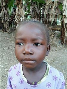 Choose a child to sponsor, like this little girl from Jaiama Bongor, Wuya age 4