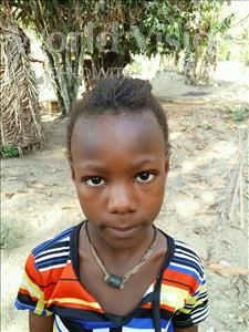 Choose a child to sponsor, like this little girl from Jaiama Bongor, Tity age 8