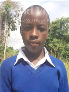 Emanuel Raymond, aged 12, from Tanzania, is hoping for a World Vision sponsor