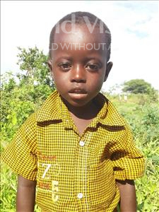 Choose a child to sponsor, like this little boy from Kilimatinde, Edson Adamu age 5