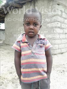 Choose a child to sponsor, like this little boy from Kilimatinde, Jimson Keith age 2