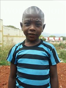 Choose a child to sponsor, like this little boy from Kibiga-Mulagi, David age 7