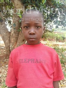 Choose a child to sponsor, like this little boy from Kibiga-Mulagi, Sulaiman age 9