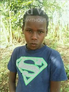 Choose a child to sponsor, like this little girl from Kibiga-Mulagi, Margret age 8