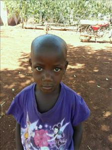 Choose a child to sponsor, like this little girl from Kibiga-Mulagi, Catherine age 6