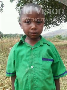Choose a child to sponsor, like this little boy from Kibiga-Mulagi, Fred age 4