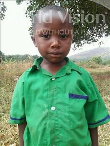 Choose a child to sponsor, like this little boy from Kibiga-Mulagi (Kimu), Fred age 4