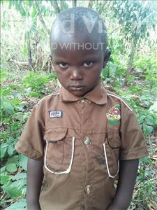 Choose a child to sponsor, like this little boy from Kibiga-Mulagi, Edward age 4