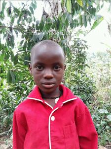 Choose a child to sponsor, like this little girl from Kibiga-Mulagi, Gloria age 5