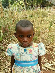 Choose a child to sponsor, like this little girl from Kibiga-Mulagi (Kimu), Lillian age 7