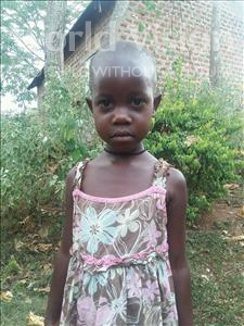 Choose a child to sponsor, like this little girl from Kibiga-Mulagi (Kimu), Vivian age 6