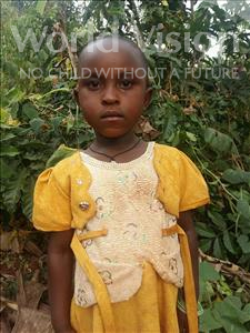 Choose a child to sponsor, like this little girl from Kibiga-Mulagi (Kimu), Kamukama age 4