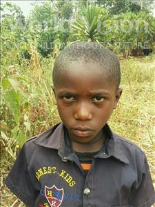 Choose a child to sponsor, like this little boy from Kibiga-Mulagi (Kimu), Keneth age 6