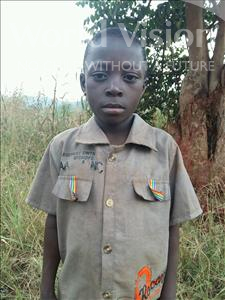 Choose a child to sponsor, like this little boy from Kibiga-Mulagi, Emmanuel age 8