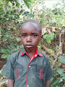 Choose a child to sponsor, like this little girl from Kibiga-Mulagi, Gerald age 6