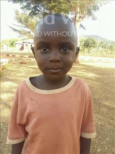 Choose a child to sponsor, like this little boy from Kibiga-Mulagi (Kimu), Jovan age 4