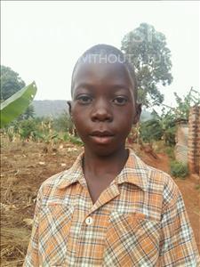Choose a child to sponsor, like this little boy from Kibiga-Mulagi (Kimu), Godfrey age 8