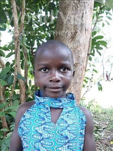 Jovia, aged 6, from Uganda, is hoping for a World Vision sponsor