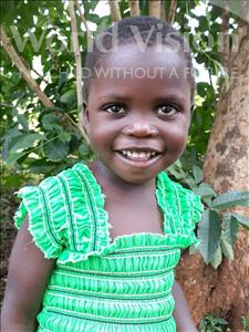 Choose a child to sponsor, like this little girl from Busitema, Justine age 3