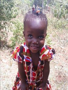 Choose a child to sponsor, like this little girl from Busitema, Noel age 2