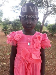 Choose a child to sponsor, like this little girl from Busitema, Ziporah age 5