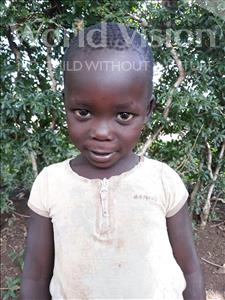 Choose a child to sponsor, like this little girl from Busitema, Junior age 3