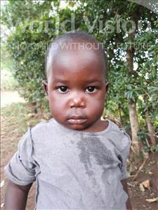 Choose a child to sponsor, like this little boy from Busitema, Rafael age 3