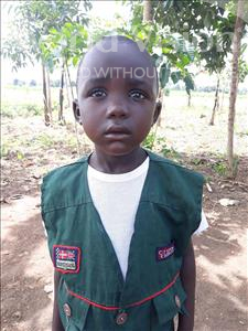 Choose a child to sponsor, like this little boy from Busitema, Stephen age 5