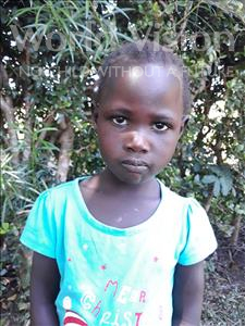 Choose a child to sponsor, like this little girl from Busitema, Rebecca age 5