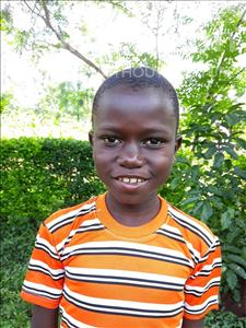 Obama, aged 8, from Uganda, is hoping for a World Vision sponsor