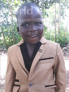 Choose a child to sponsor, like this little boy from Busitema, Kelvin age 3