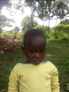 Choose a child to sponsor, like this little Boy from Busitema, Luky age 3