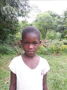 Choose a child to sponsor, like this little girl from Busitema, Nusula age 7