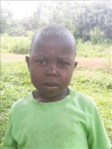 Choose a child to sponsor, like this little boy from Busitema, Oyuma age 6