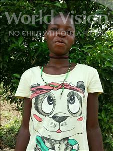 Choose a child to sponsor, like this little girl from Ntwetwe, Rosemary age 13