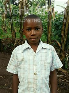 Choose a child to sponsor, like this little boy from Ntwetwe, Amos age 8