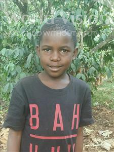 Choose a child to sponsor, like this little Boy from Ntwetwe, Brian Ssetabi age 7