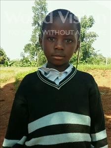 Choose a child to sponsor, like this little boy from Ntwetwe, Joel age 7
