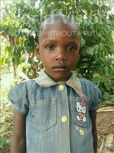 Choose a child to sponsor, like this little girl from Ntwetwe, Leticia age 4