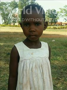 Choose a child to sponsor, like this little girl from Ntwetwe, Joan age 5