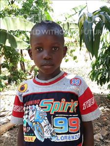 Choose a child to sponsor, like this little boy from Ntwetwe, Daniel age 6