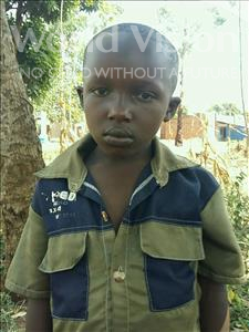 Choose a child to sponsor, like this little boy from Ntwetwe, Ismael age 7