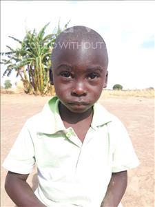 Choose a child to sponsor, like this little boy from Keembe, Allow age 3