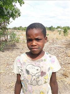 Choose a child to sponsor, like this little girl from Keembe, Rabecca age 8