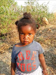 Choose a child to sponsor, like this little girl from Keembe, Edina age 3