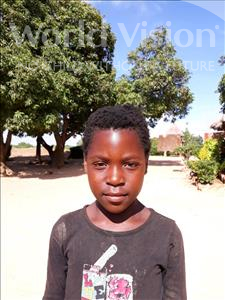 Choose a child to sponsor, like this little girl from Keembe, Promise age 10
